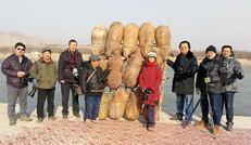 黄河寻踪 石林论影——陕西八大摄影团队黄河石林采风创作