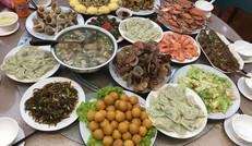 地道的渔家美食宴
