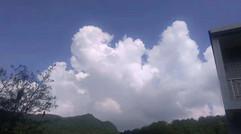 乡村蓝天白云