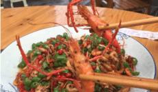 美味的小龙虾