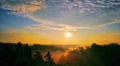 黄水夕阳景色
