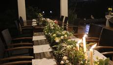 烛光晚餐、美食美景……我在仟陌间等你……
