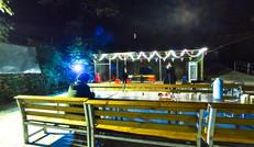 夜拍篝火广场