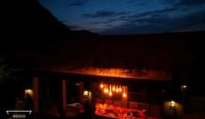 十里红民宿夜景