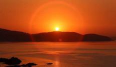 欣賞日出日落