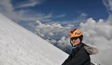天气不错的哈巴雪山留影记录
