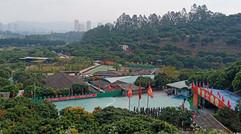 深圳周边哪里有可公司员工拓展团建场地来黄江万荔生态园